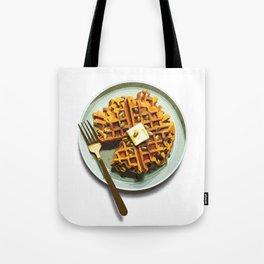 Pumpkin Waffles Tote Bag