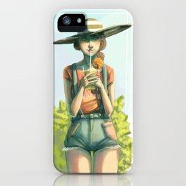 Sunhat iPhone Case