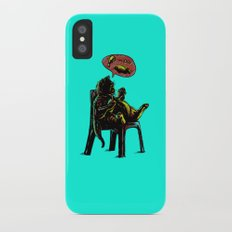 Obesity Cat Slim Case iPhone X