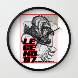 Legend of 67 Original Wall Clock