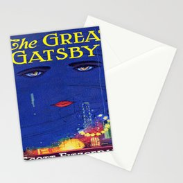 The Great Gatsby vintage book cover - Fitzgerald Stationery Cards