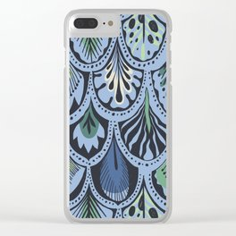 Feathers III Clear iPhone Case