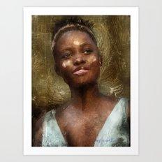 Lupita Nyong'o Art Print