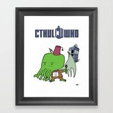 Cthul'Who Framed Art Print