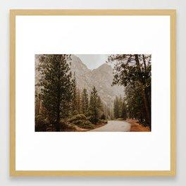 Kings Canyon National Park Framed Art Print