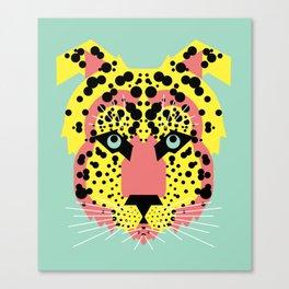 Modular Cheetah Canvas Print