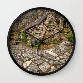 Ugly House Wall Clock