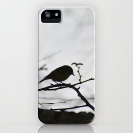 Kinglet in the Morning iPhone Case