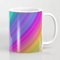 rainbow Mugs featuring Rainbow by David Zydd