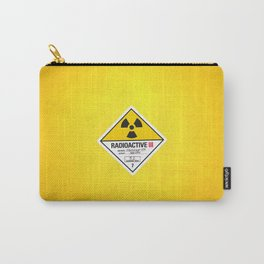 Radioactive sign Back to the future Carry-All Pouch