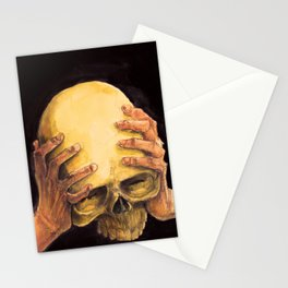 Head on Hands Stationery Cards