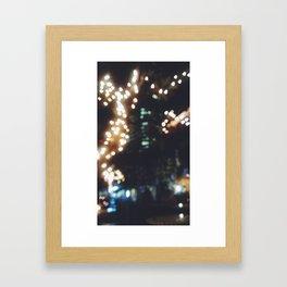 Bookeh 4 Framed Art Print
