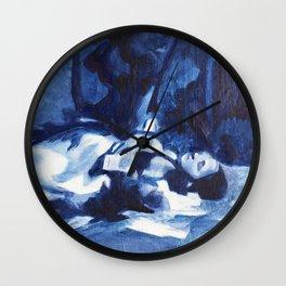 Cinders Wall Clock