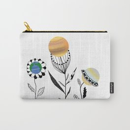 Flowers=planets Carry-All Pouch