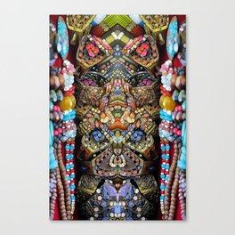 Indigenous Bling Canvas Print