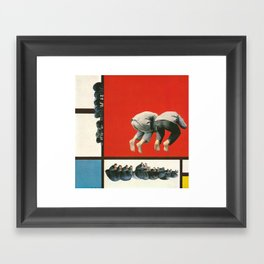 On the Relationship between Purity and Reality Framed Art Print