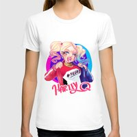 harley T-shirts featuring HARLEY by Miaolait