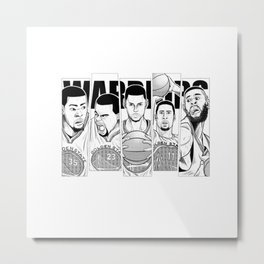 Golden State Metal Print