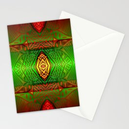 Play with colored pattern 1 ... Stationery Cards