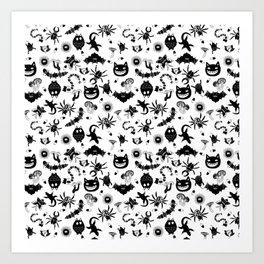 Ghibli creatures Art Print