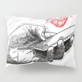 And I'll send all my loving to you Pillow Sham