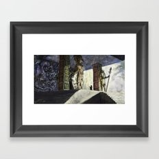 The Volcano Entrance Framed Art Print