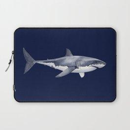 WHITE SHARK (navy blue) Laptop Sleeve