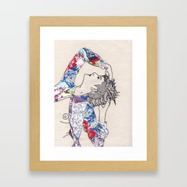On No, Onoh! Framed Art Print