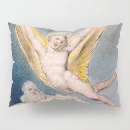 "William Blake ""Night Startled by the Lark"" Pillow Sham"