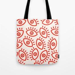 Eye Pattern Tote Bag