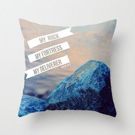 My Rock Throw Pillow
