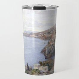 Blick auf Ragusa Travel Mug