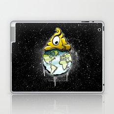 shit rules the world Laptop & iPad Skin
