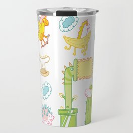 Unicorn Pattern Travel Mug