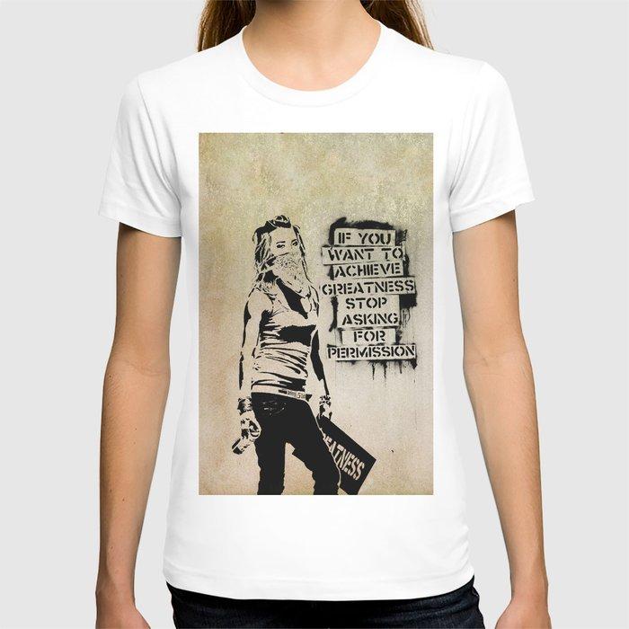 Banksy, Greatness T-shirt