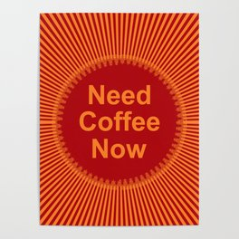 Coffee Now Poster