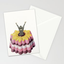 Blancmange Surprise Stationery Cards