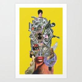 Jaime Starr Funk Totem Art Print