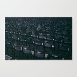chairs in Vatican Canvas Print