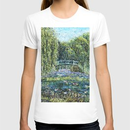 Thewater lily pond T-shirt