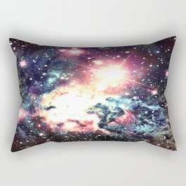Fox Fur Nebula : Deep Pastels Galaxy Rectangular Pillow