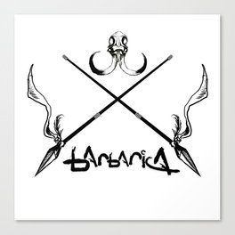Barbarica Emblem Canvas Print