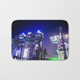 Industrial HDR photography - Steel Plant 2 Bath Mat