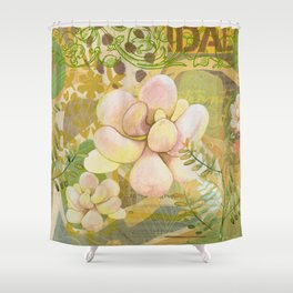 Grenada Garden Shower Curtain