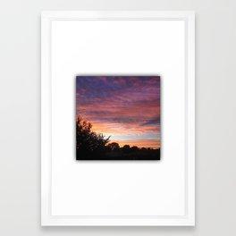 sunset 1.0 Framed Art Print