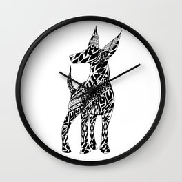 Xoloescuincle Ecopet Wall Clock