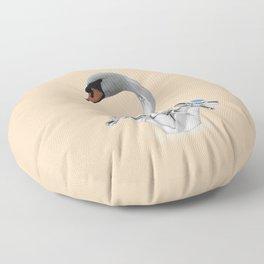 Swan Tap Floor Pillow