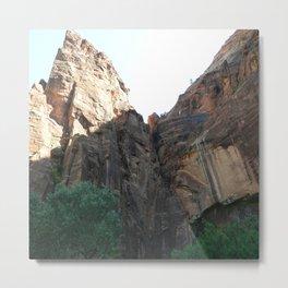 Zion's National Park Metal Print
