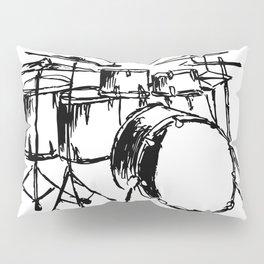 Drums Pillow Sham