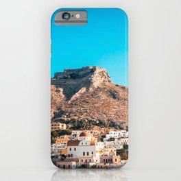 The castle of Leros iPhone Case